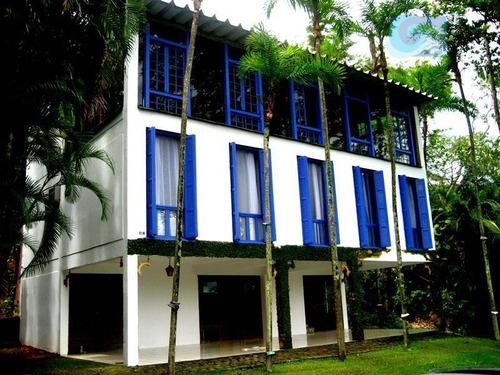 Imagem 1 de 30 de Casa À Venda - Condomínio Península - Praia Da Enseada - Guarujá. - Ca1222