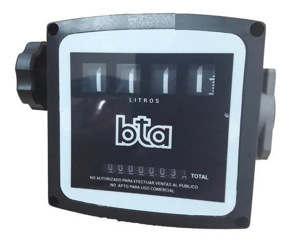 Cuenta Litros Caudalimetro Gasoil Bta Mecanico 4 Digitos