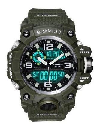 Relógio Masculino Verde Militar
