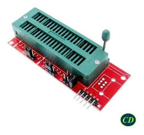 Base Zif  Icsp  Adaptador Pickit - Socket Microcontolador