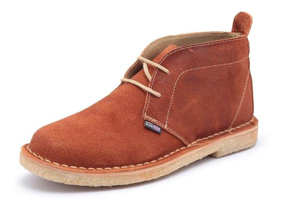 Bota Assandalhada Com Solado Crepe Estilo Desert Boots