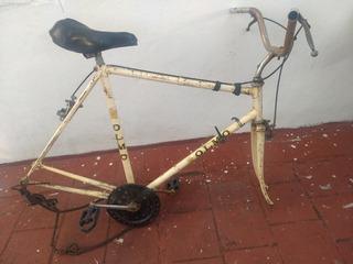 Bicicleta Olmo Cuadro Empipado R28 Ideal Restauradores