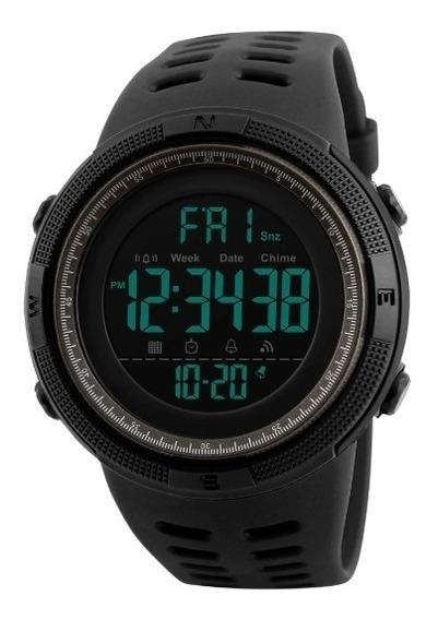 Reloj Hombre Deportivo Digital Militar Sumergible 50m Skmei