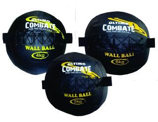 Kit Wall Ball Cross Fit 4,5e6 Kilos Último Combate