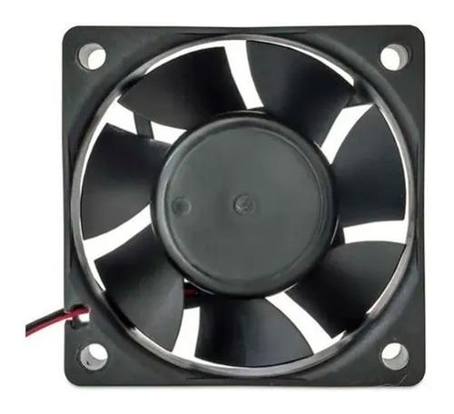 Imagem 1 de 9 de Fan Cooler 60mm Alta Performance 6cm 12v 0,16a Dx-6c Preto