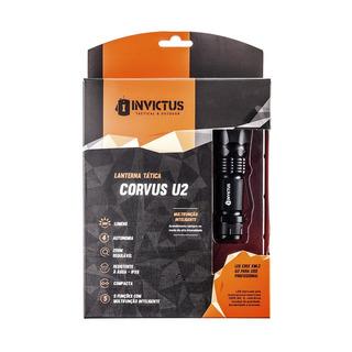 Lanterna Invictus Corvus U2 Led Recarregável + Bateria Extra