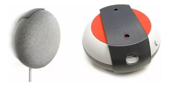 Kit 2 Suportes Google Home Mini + 2 Suportes Echo Dot V3