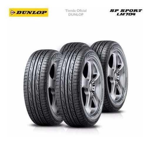 Kit X4 185/65 R15 Dunlop Sp Sport Lm 704 + Tienda Oficial