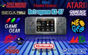 Retrogame Rs-97 Com Dingux Instalado! N É Psp Nds Gba Mega.