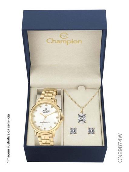 Relógio Champion Elegance Analógico Feminino Cn29874w