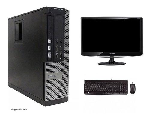 Computador Desktop Dell 7010 I3 4gb 320hd Monitor 18