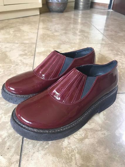 Zapatos De Charol Mishka Talle 38 1/5