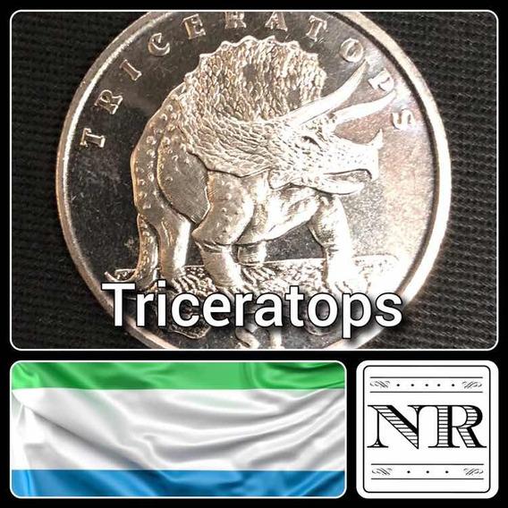 Sierra Leona - 1 Dolar - Año 2006 - Triceratops - Km# 310