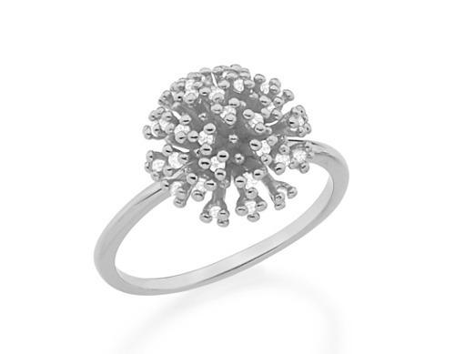 Anel Skinny Ring Buque Feminino Rodium Joia Rommanel 110661