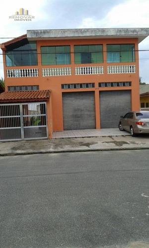 Imagem 1 de 1 de Sobrado Residencial À Venda, Balneário Marambaia, Itanhaém - . - So0054