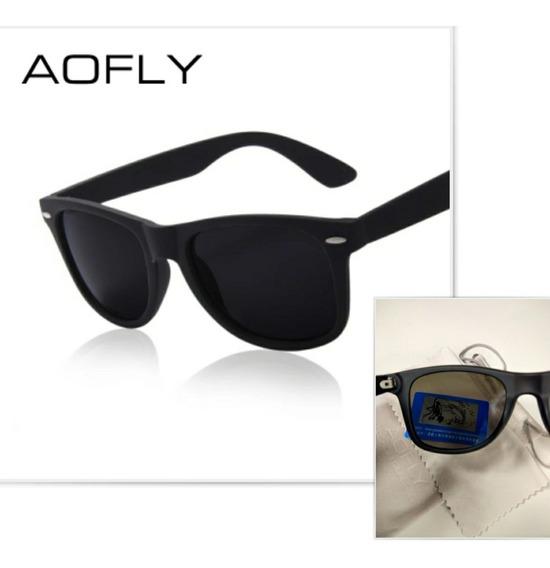 Óculos De Sol Unissex Retrô Uv400 Lentes Polarizadas