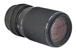 Lente Sigma P/nikon 80-200mm F:4.5-5.6 Japan, Serie Ai Limpa