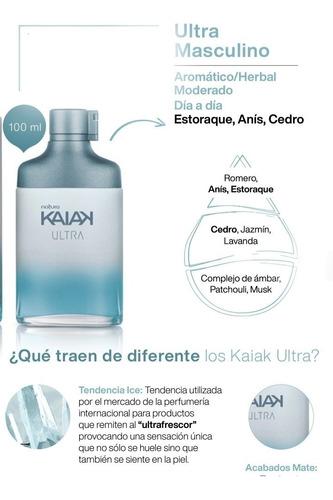 Natura Kaiak Ultra Eau De Toilette Masculino 100ml. Roble´s