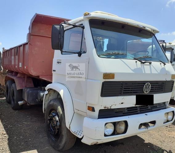 Vw 14-210 - 90/90 - Truck, Caçamba 10m³ Na Lata