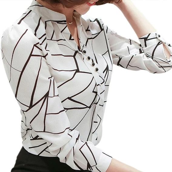 9752fcfa5e63 Blusa Blanca Elegante - Blusas para Mujer en Mercado Libre Colombia