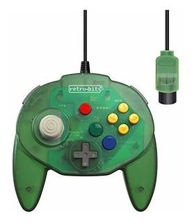 Retrobit Tribute 64 Cableado Controlador N64 Para Nintendo 6