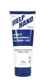 Creme De Proteção Help Hand G2 200g Henlau - Ca 8948