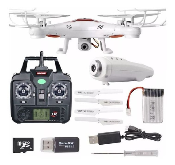 Drone Syma X5c Com Camera Hd, 6 Axis, 2,4ghz Original