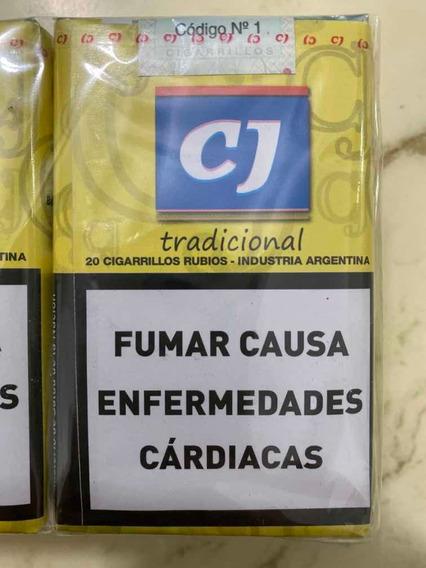 Cigarrillos Cj Tradicional Pack Por 10 Atados