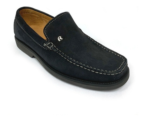 Zapatos Mocasines Rossi Caballero Azul Ro 0614 Corpez 77