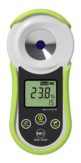 Refractometro Brixometro 0-55 Brix Hm Digital Medidor Azúcar