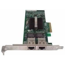 Placa De Rede Dual Port 1gb Network Interface Card Intel