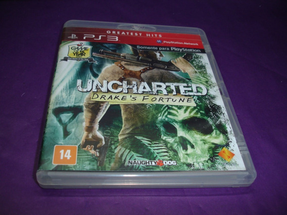 Ps3 : Uncharted Drakes Fortune Original Na Caixa E Manual