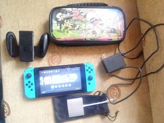 Nintendio Switch Completo Con Juegos 4