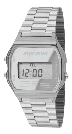 Relógio Masculino Mormaii Vintage Promoção Prata Mojh02aa/3c