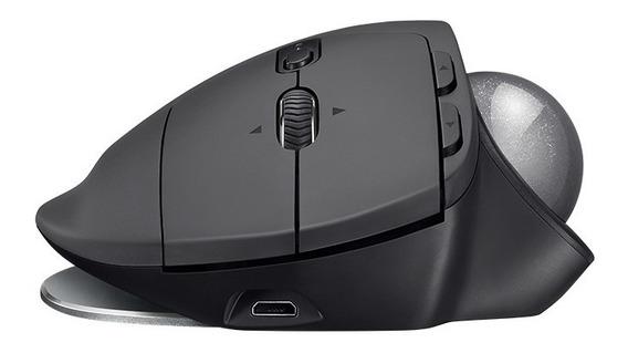Mouse Logitech Trackball Mx Ergo Bluetooth Recarregavel
