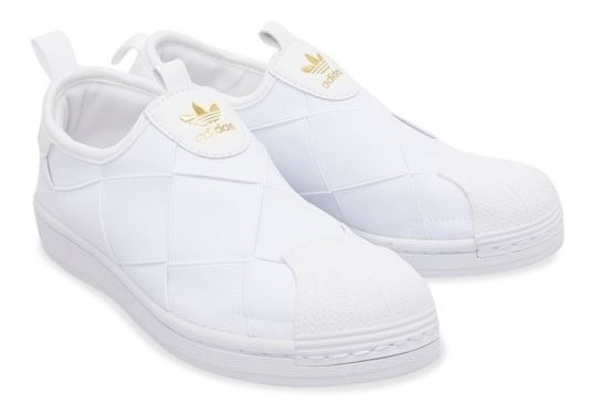 Tênis adidas Superstar Slip-on Branco - Original Fv3186