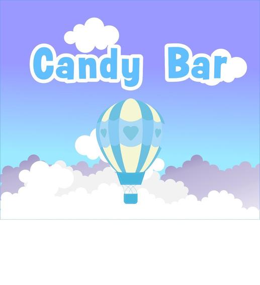 Globo Aerostático Candy Bar Personalizado