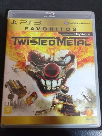 Jogo Twisted Metal Ps3 Midia Fisica Nova