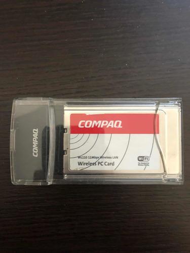 Compaq Wireless Pc Card Wl110 11mbps