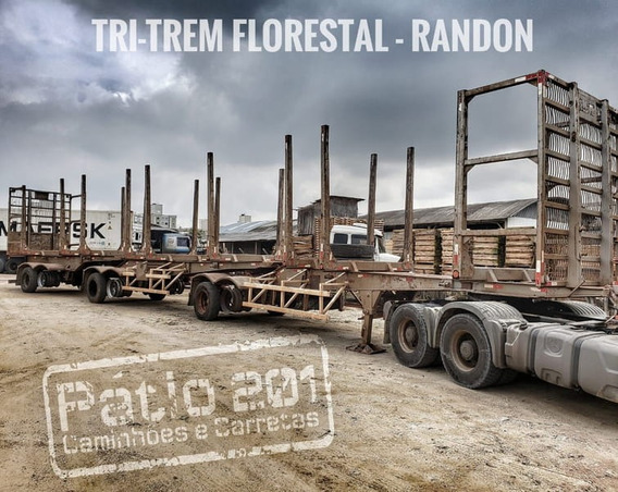 Randon Carreta Florestal (randon Toras) 2009