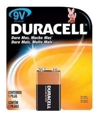 Kit 70 Baterias 9v Duracell Original Alcalina