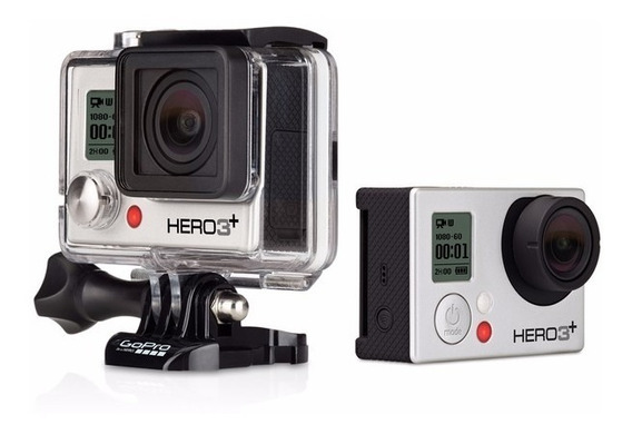 Go Pro Hero 3+ /32gb+2 Bateria+carregador Semi Nova
