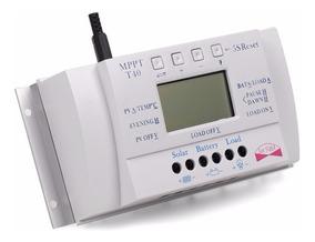 Controlador De Energia Solar 40 A (o Novo T40) 12/24 V Mppt