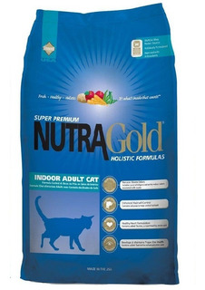 Nutra Gold Cat Indoor 7,5 Kg + Despacho Gratis**