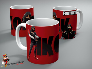 Taza De Ceramica Fortnite Ikonik Art Hd