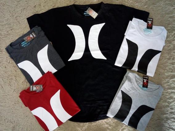 10 Camisetas Long Line - Varejo E Atacado