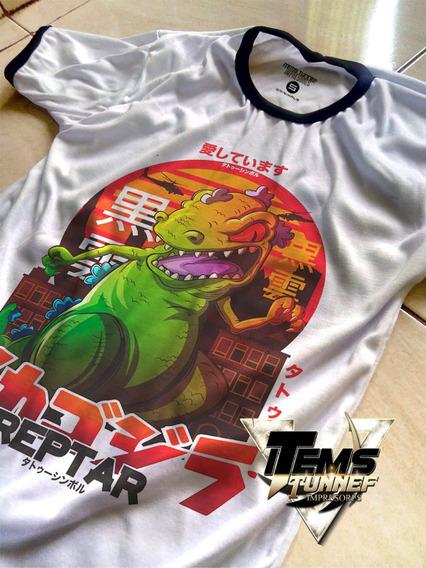 Playera Reptar Rugrats Anime Mayoreo Personalizada A2