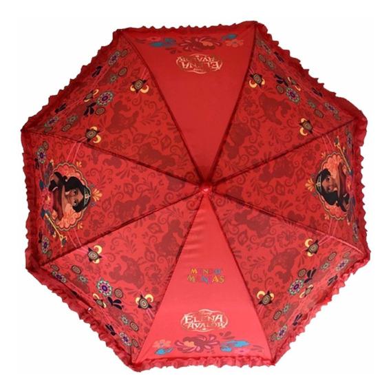 Paraguas Lluvia Disney Princesa Elena Avalor Mundo Manias