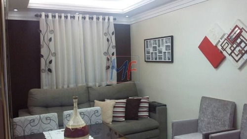 Ref 8514 - Apartamento Condomínio Para Venda No Bairro Jd. Penha, 2 Dorms, 1 Vaga, 55 M ! Estuda Propostas Permutas! Porteira Fechada. - 8514