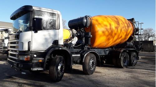 Mixer Hormigonero Scania 380y 420 8x4 Tr 10m3 Alquilo Vendo